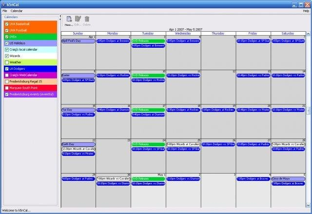 k5n Desktop Calendar | SourceForge.net