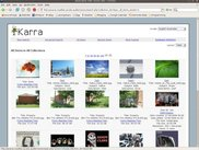 Search results in table layout