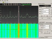Software defined radio with gqrx and RTL2832 dongle