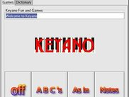 Keyano: Keyboard/Piano sounds & helps kids learn their ABCs!