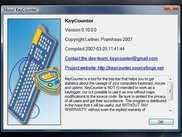 KeyCounter 0.10.0.0 in Windows Vista
