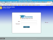 Screenshot Login Page