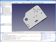 3D STEP model solder side (view in freecad)