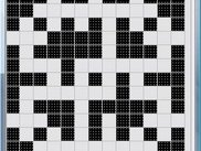 2 - The process of creating grid of crossword puzzle.