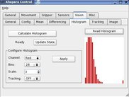 Sample Application AiS KCon:  Histogram dialog