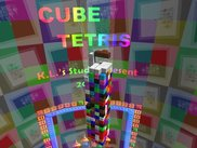 Cube Tetris Screen Saver