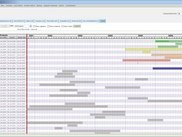 New Project Portfolio gantt snapshot