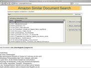 Similarity search on book description text files from Amazon