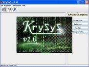 KrySyS - Graphical User Interface