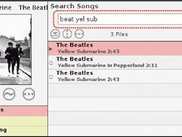 Fast Search in Large Music Collections