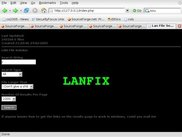 LANFIX search page