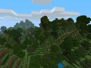 Some hills created by the Hills Terrain Generator.