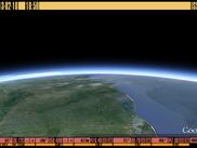 "3D Earth demo (""live"" view form ISS)"