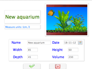 New aquarium Form