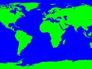ETOPO2 Cylindrical projection