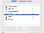 Likewise in the Mac Directory Access Dialog