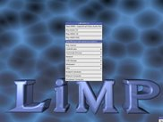 LiMP showing its menu