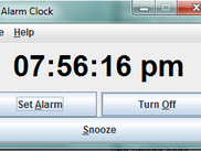 12 hour clock without alarm set