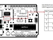 Use Arduino board as LOPEZ AVR ISP loader