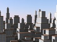 A simple city model generated by Lsie.