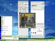 LXP WinXP Olive Theme (details: taskbar & notification area)