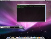Mac4Lin Desktop with Terminal and Songbird