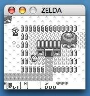 The Legend of Zelda: Link's Awakening on Mac OS X 10.4