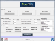 MassWiz Graphic User Interface