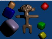 math-linux now has blender monkey