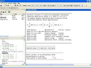 Matlab window with logfile output