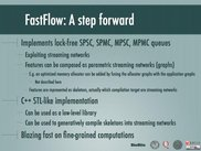 FastFlow features