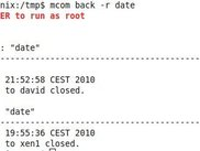mcom comand on multiple hosts as root