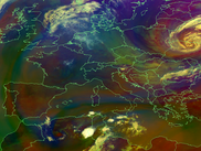 MSG HRIT RGB Composite Airmass