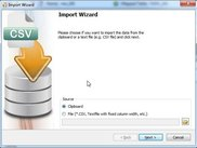 Data Import Wizard