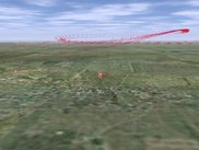 3d visualization of autonomous flight