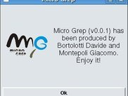 MicroGrep About
