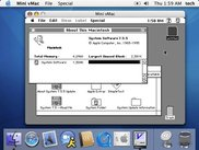 Mini vMac in Macintosh OS X