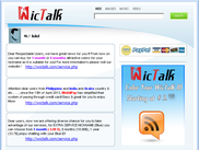 Software WicTalk Messager uses Mirrai Framework