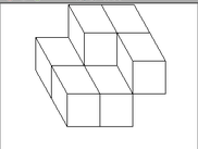 A (3,2)-cube for the discrete plane y = floor(2x/3 +2/5)