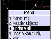 Menu for additional functions