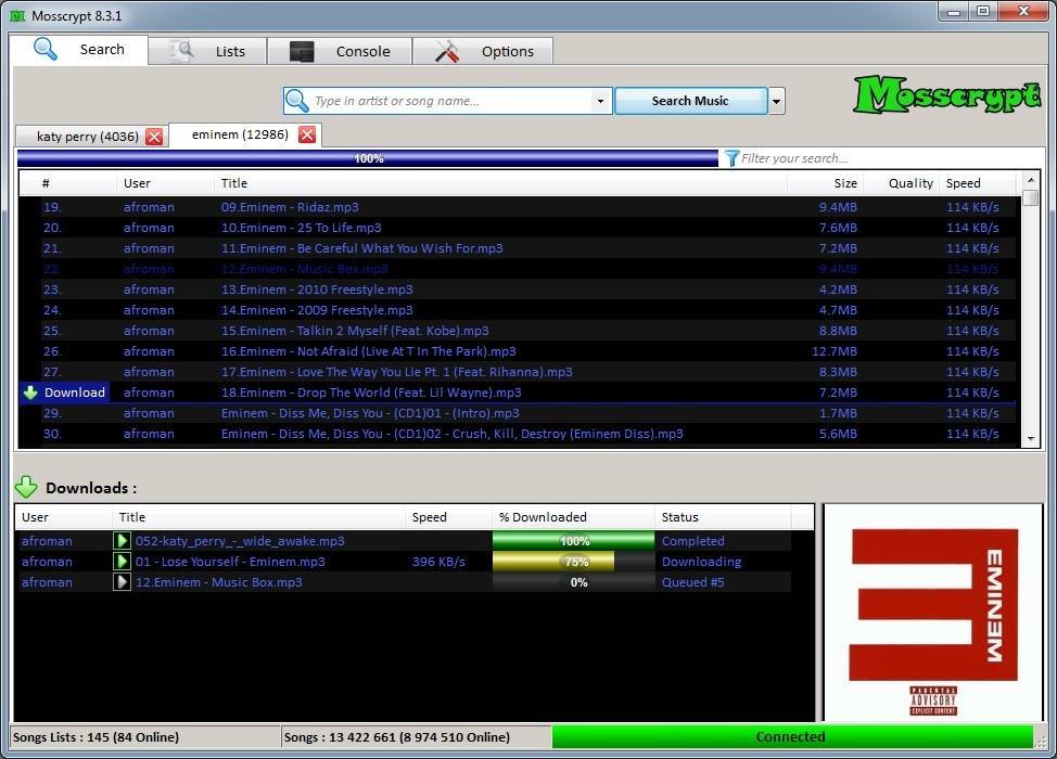 Full Mosscrypt screenshot