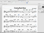 A jazz leadsheet in MuseScore 2.0