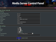 Stream Transcoder Settings