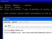 Messaging  between IRC and MSN Messenger (pidgin)
