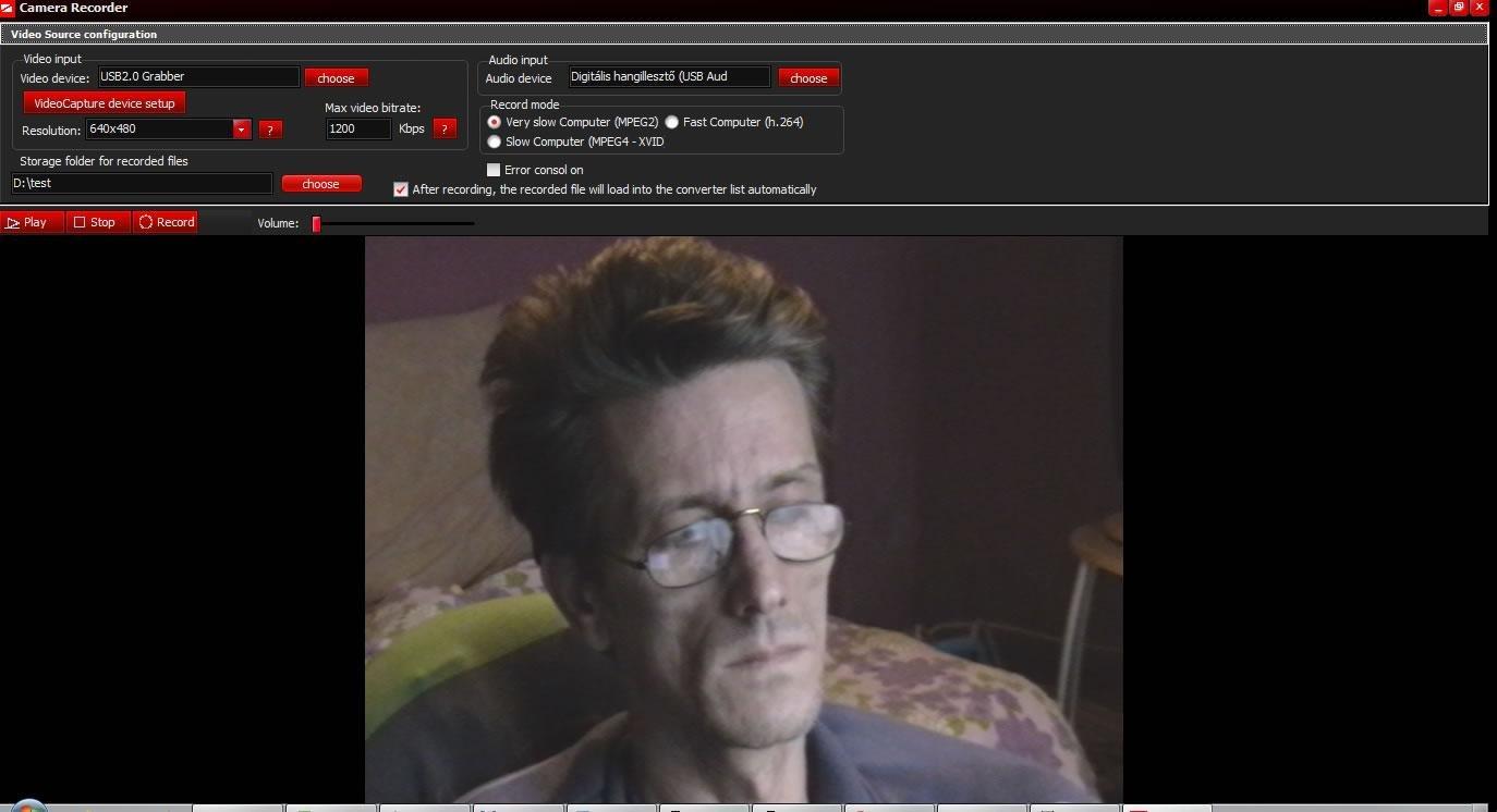 DirectShow Camera Capture