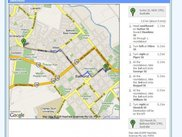 Customers Address Plus Google Maps view with Directions