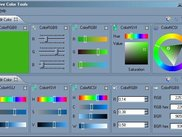 Current look of NaiveColorTools app. Here are the editors!