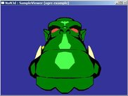cel shading (ogre example)