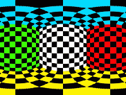 Equirectangular regridded cubed sphere tiles using ncmerge.