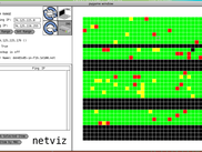 Netviz showing Google servers